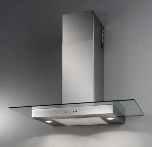 Hotte décorative Broan CRISTAL HD220VI Inox