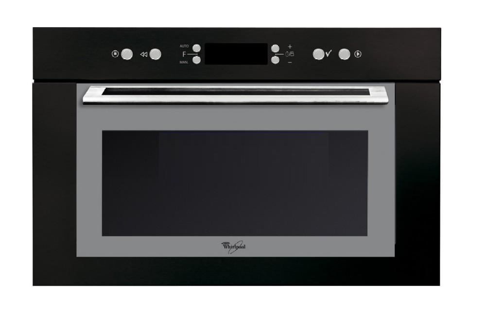 Micro ondes int grable whirlpool amw735nb - Micro ondes porte abattante ...
