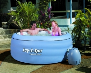 Spa Gonflable ROND Lay-z-Spa Premium Series