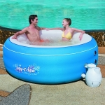 Spa Gonflable ROND Lay-z-Spa Massage Tub