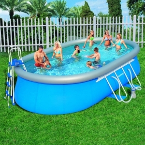 Piscine Ovale autostable Bestway