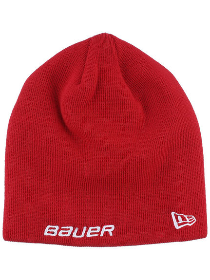 Bonnet Bauer New Era rouge
