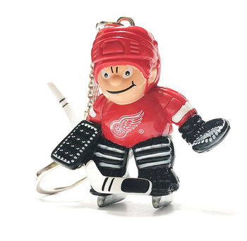 Porte clef NHL gardien Red Wings Detroit