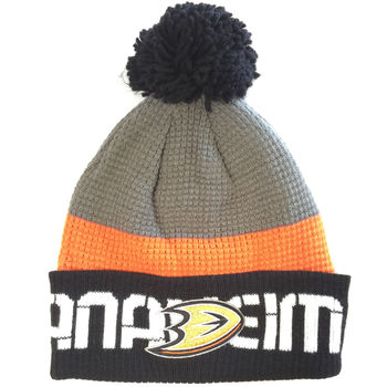 Bonnet NHL Anaheim Ducks pompon