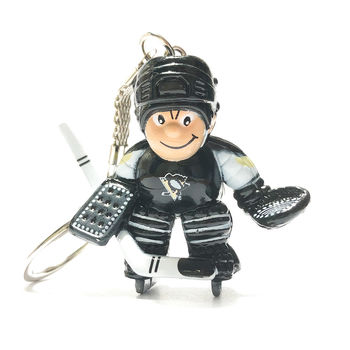 Porte clef NHL gardien Penguins Pittsburgh