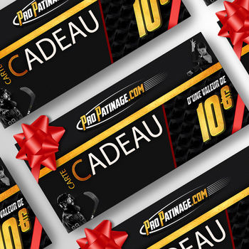 Carte cadeau 10 € Pro Patinage