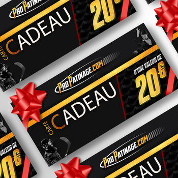 Carte cadeau 20 € Pro Patinage
