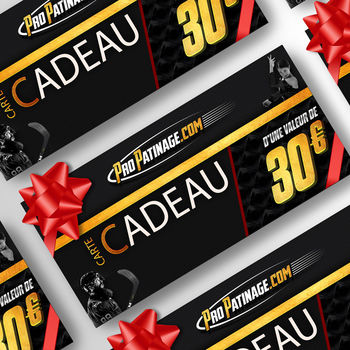 Carte cadeau 30 € Pro Patinage