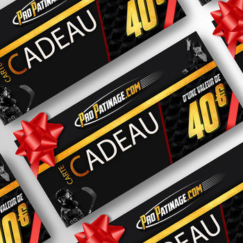 Carte cadeau 40 € Pro Patinage