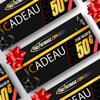 Carte cadeau 50 € Pro Patinage