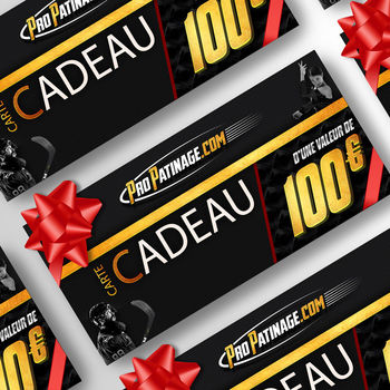 Carte cadeau 100 € Pro Patinage