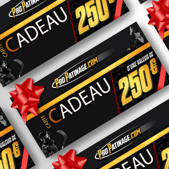 Carte cadeau 250 € Pro Patinage