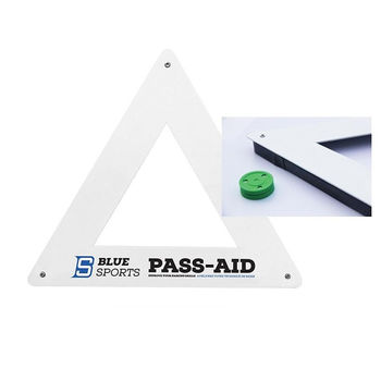 Triangle Pass-Aid Blue Sports
