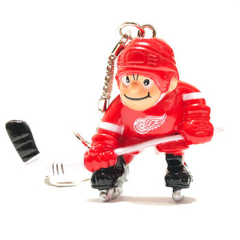 Porte clef NHL joueur Red Wings Detroit