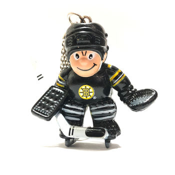 Porte clef NHL gardien Bruins Boston