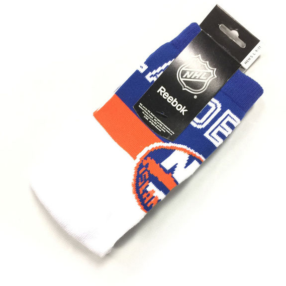 Chaussettes NHL New York Islanders blanches