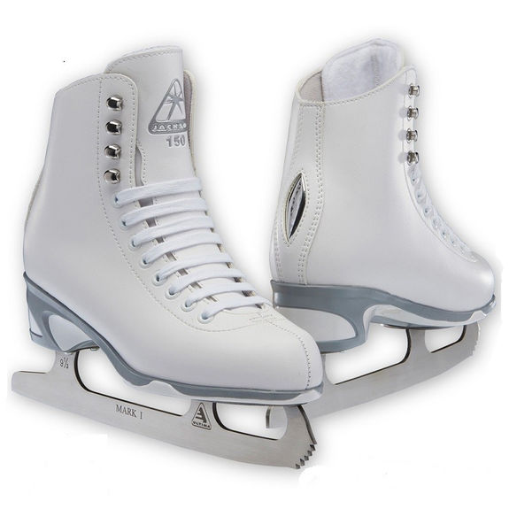 Patins Jackson 150 Blanc Youth Lame Mark I