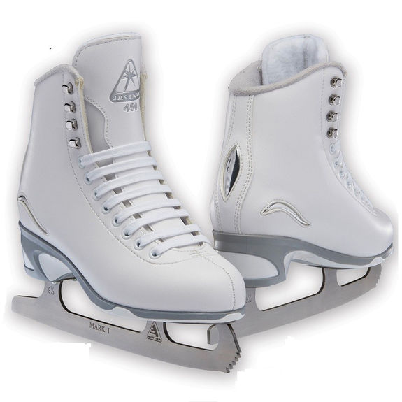 Patins Jackson 450 Blanc Lame Mark I