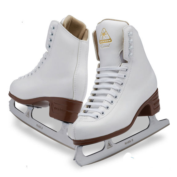 Patins Jackson Excel 1290 Blanc Youth Lame Mark II
