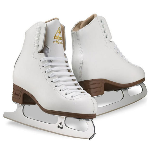 Patins Jackson Mystique Blanc Youth Lame Mark II