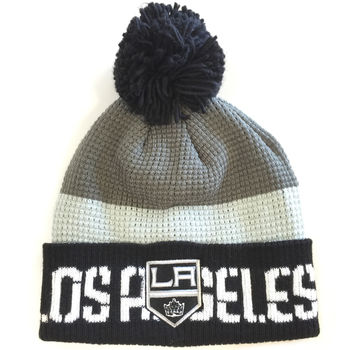 Bonnet NHL Los Angeles Kings pompon