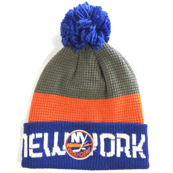 Bonnet NHL New York Islanders pompon