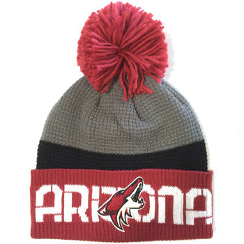 Bonnet NHL Arizona Coyote pompon
