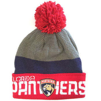 Bonnet NHL Floride Panthers pompon
