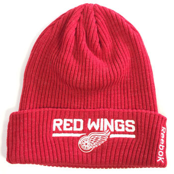 Bonnet NHL Detroit Red Wings uni