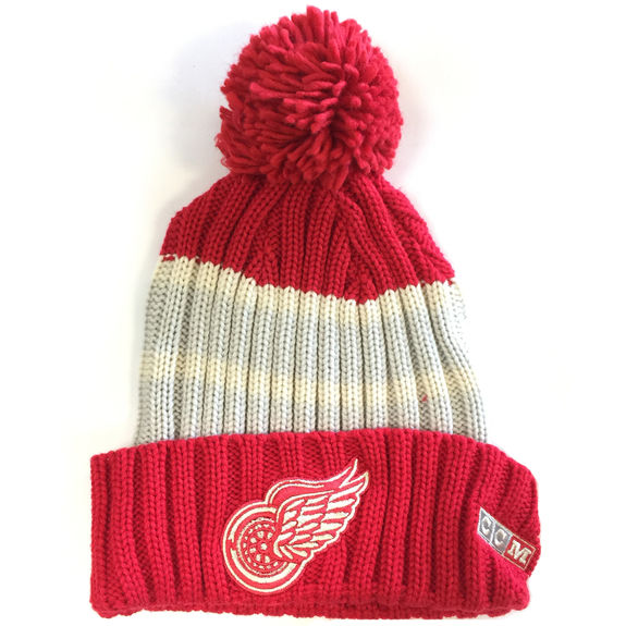 Bonnet NHL Detroit Red Wings Vintage pompon