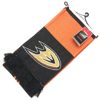 Echarpe NHL Anaheim Ducks à franges