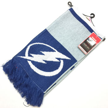 Echarpe NHL Tampa Bay Lightning à franges