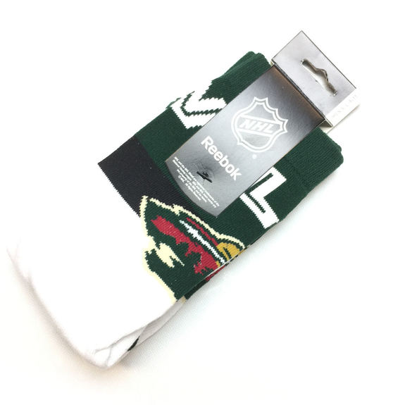 Chaussettes NHL Minnesota Wild blanches