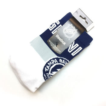 Chaussettes NHL Tampa Bay Lightning blanches