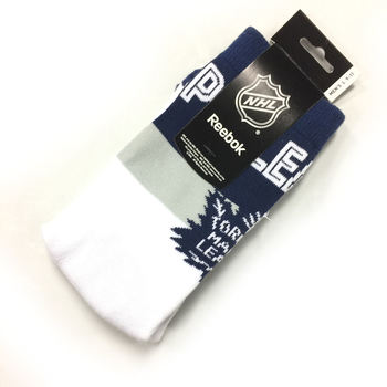 Chaussettes NHL Toronto Maple Leafs blanches
