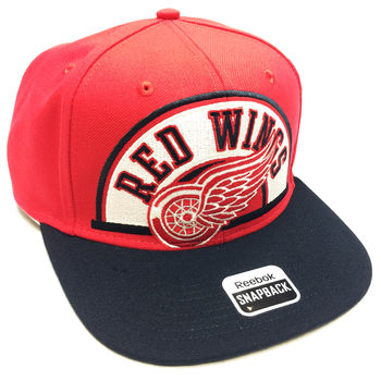 Casquette NHL Detroit Red Wings Snapback Reebok