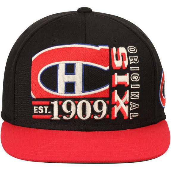 Casquette NHL Montreal Canadiens Snapback CCM