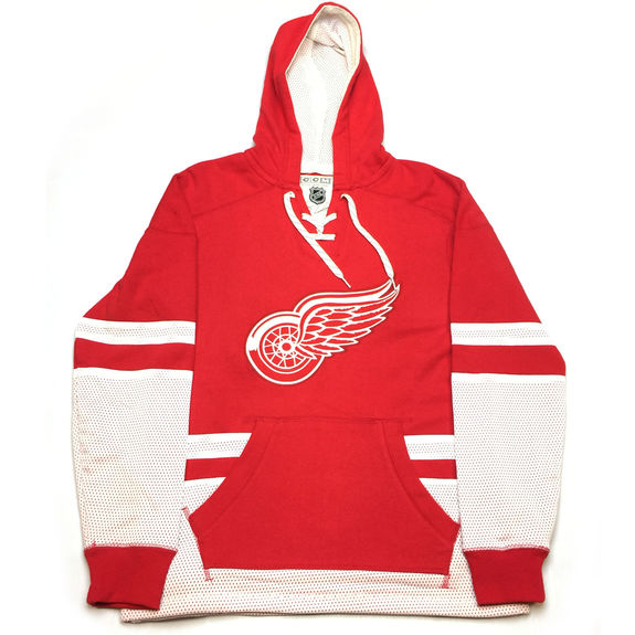 Sweatshirt  NHL Pullover Hood Detroit Red wings