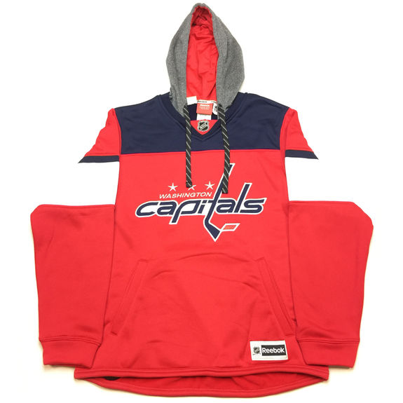Sweatshirt NHL Jersey Hood Washington Capitals