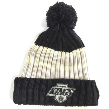 Bonnet NHL Los Angeles Kings Vintage pompon