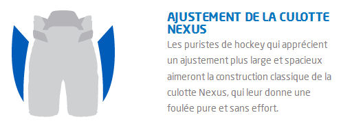 Culotte-Bauer-Nexus-Pro-Patinage-ajustement