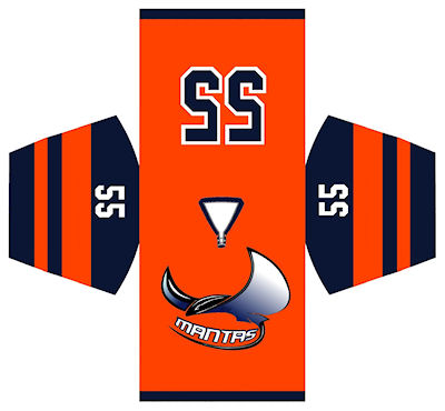 Maillot Mantas Montpellier Pro Patinage