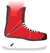 Patins Bauer Vapor X400-S17 junior volume