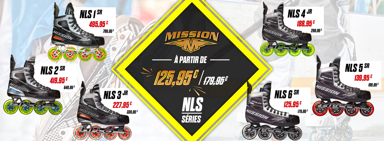 Roller Mission à -38% sur Pro Patinage