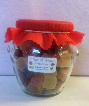 Pot de pâtes de fruits 350 gr