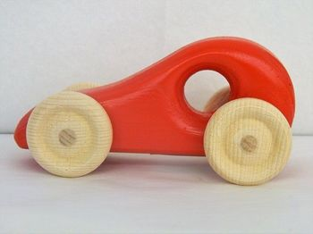 "Voiture ""twingo"" rouge"