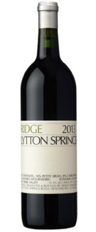 Ridge Lytton Springs Zinfandel 2016