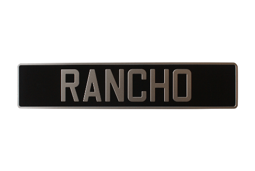 License plate cover: custom license plate