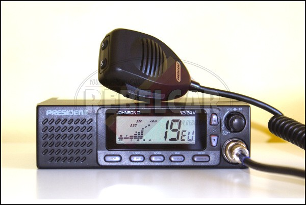 Radio CB President JOHNSON II ASC 12/24V