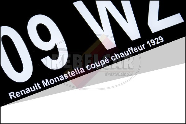 Plaque plexi noire collection 27,5 x 20 cm